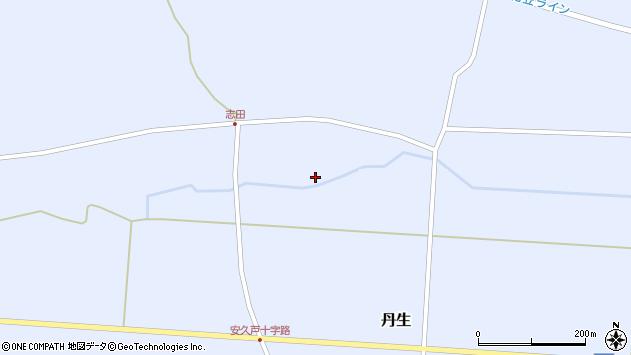 山形県尾花沢市丹生1141周辺の地図