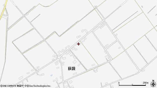 山形県尾花沢市荻袋1681周辺の地図