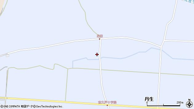 山形県尾花沢市丹生1079周辺の地図