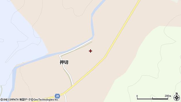 山形県尾花沢市押切163周辺の地図