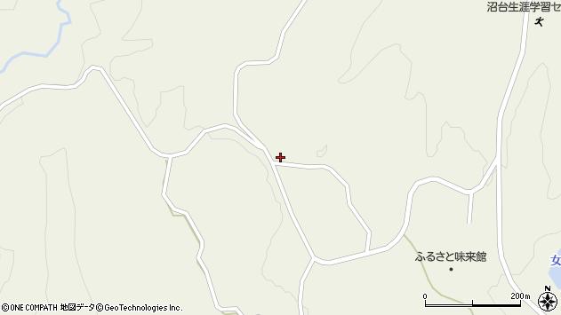 山形県最上郡大蔵村南山931周辺の地図