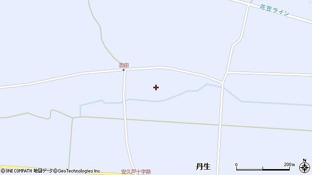 山形県尾花沢市丹生1143周辺の地図