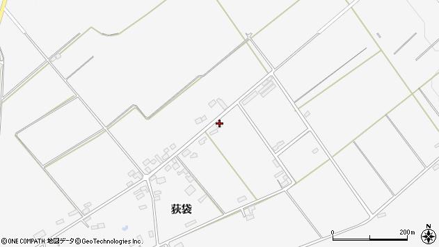 山形県尾花沢市荻袋1680周辺の地図