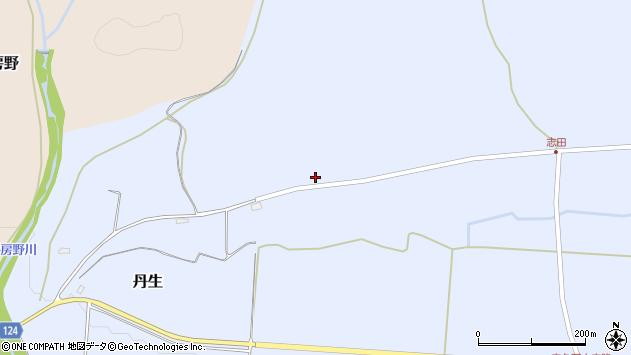 山形県尾花沢市丹生972周辺の地図