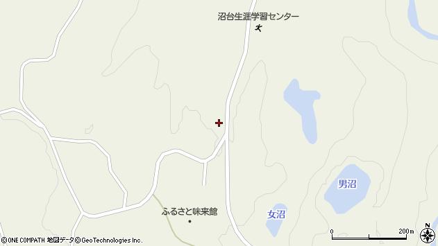 山形県最上郡大蔵村南山1493周辺の地図