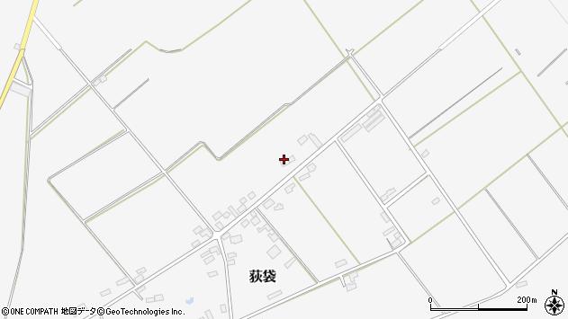 山形県尾花沢市荻袋1578周辺の地図