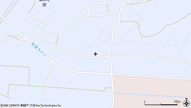 山形県尾花沢市丹生1731周辺の地図