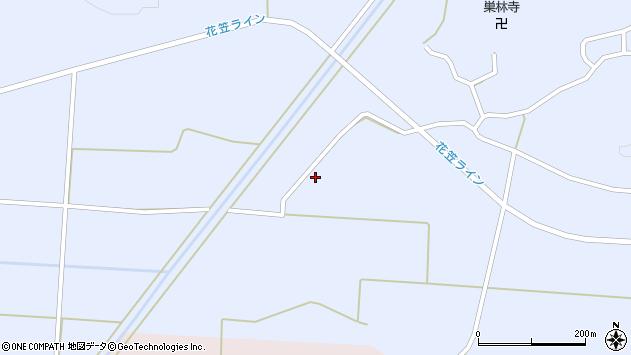 山形県尾花沢市丹生323周辺の地図