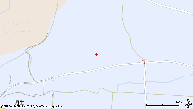 山形県尾花沢市丹生1020周辺の地図