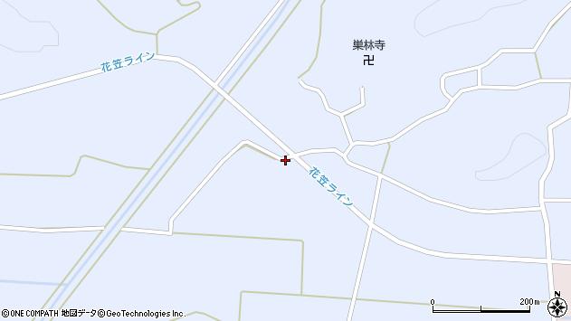 山形県尾花沢市丹生259周辺の地図