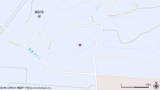 山形県尾花沢市丹生1680周辺の地図