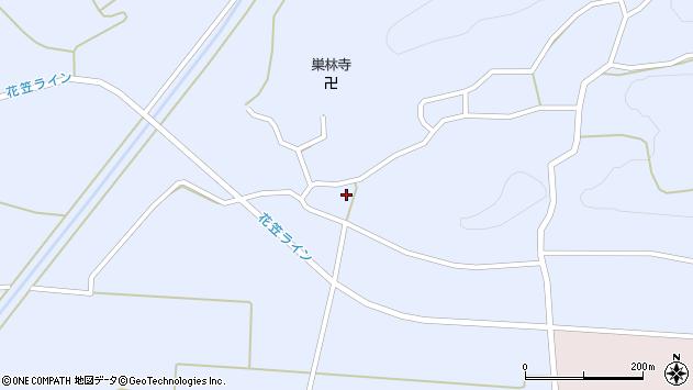山形県尾花沢市丹生1717周辺の地図