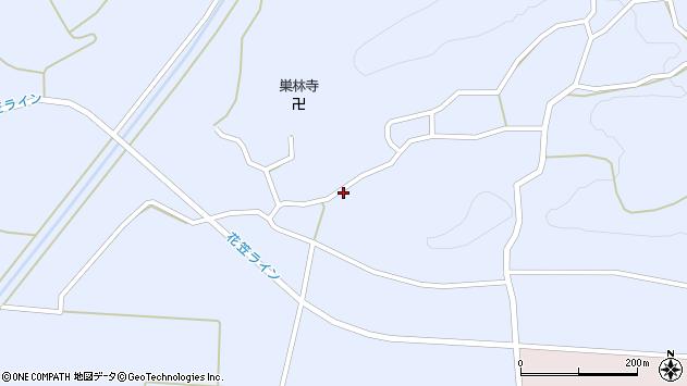 山形県尾花沢市丹生1704周辺の地図