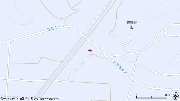山形県尾花沢市丹生306周辺の地図