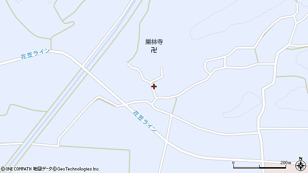 山形県尾花沢市丹生1709周辺の地図