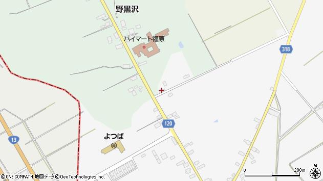 山形県尾花沢市寺内2620周辺の地図
