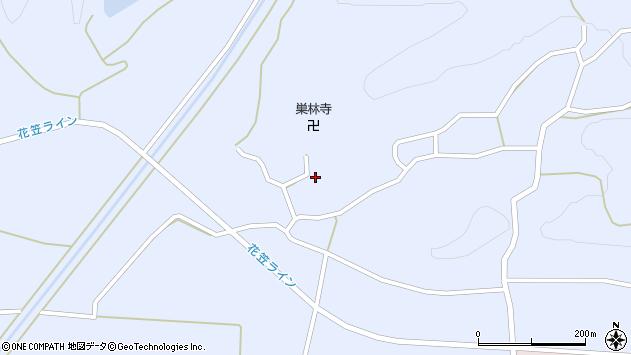 山形県尾花沢市丹生1707周辺の地図