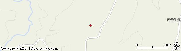 山形県最上郡大蔵村南山779周辺の地図