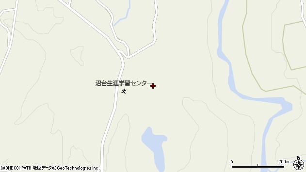 山形県最上郡大蔵村南山2074周辺の地図