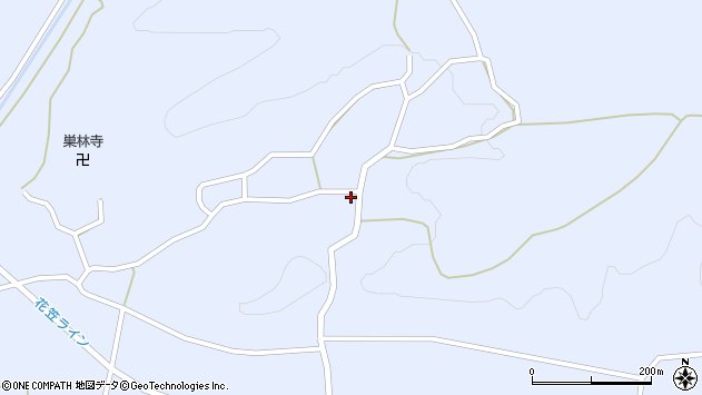 山形県尾花沢市丹生1648周辺の地図