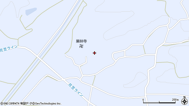 山形県尾花沢市丹生1486周辺の地図