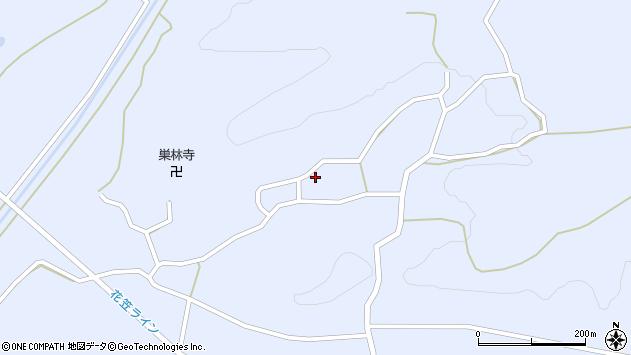 山形県尾花沢市丹生1668周辺の地図