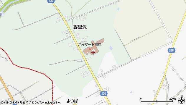 山形県尾花沢市野黒沢554周辺の地図