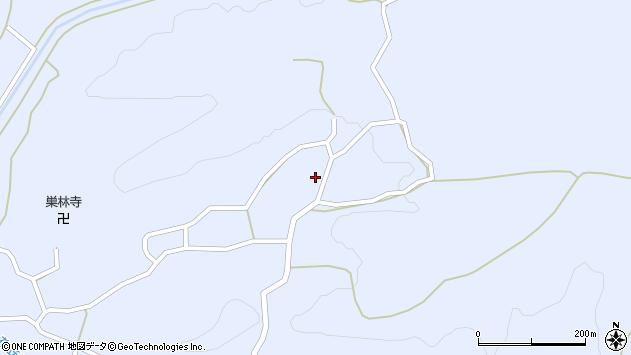 山形県尾花沢市丹生1614周辺の地図