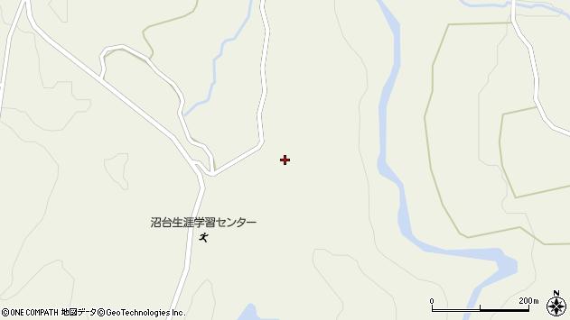 山形県最上郡大蔵村南山1430周辺の地図