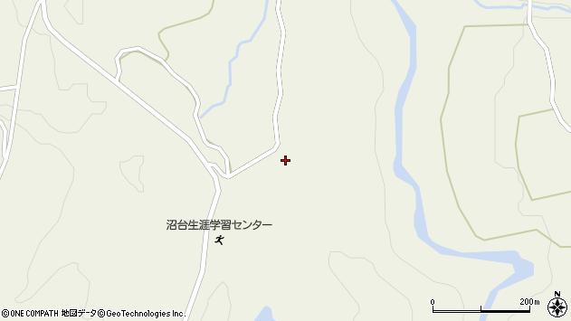 山形県最上郡大蔵村南山1433周辺の地図