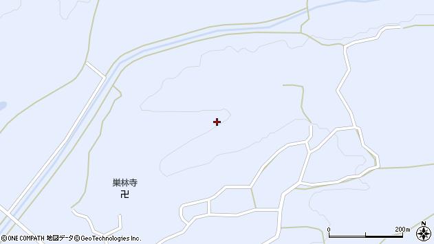 山形県尾花沢市丹生東沢周辺の地図