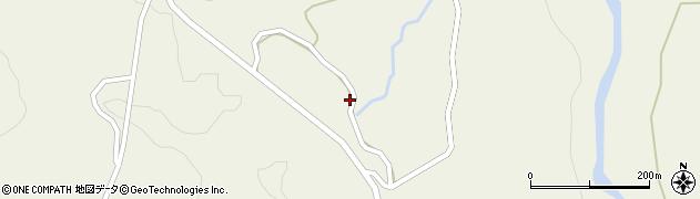 山形県最上郡大蔵村南山1361周辺の地図