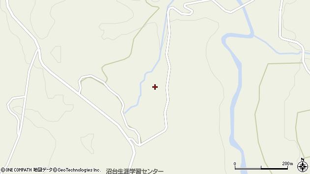 山形県最上郡大蔵村南山沼ノ台周辺の地図
