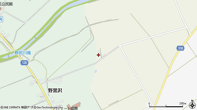 山形県尾花沢市寺内2652周辺の地図