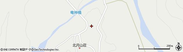 山形県東田川郡庄内町立谷沢西山周辺の地図