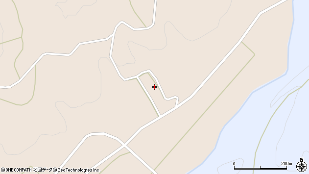 山形県尾花沢市牛房野1091周辺の地図