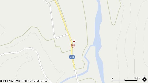 山形県東田川郡庄内町立谷沢瀬場12周辺の地図