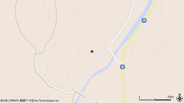山形県尾花沢市富山3周辺の地図