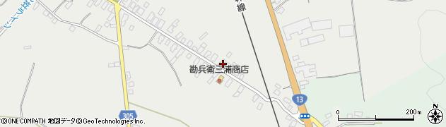 山形県尾花沢市芦沢23周辺の地図