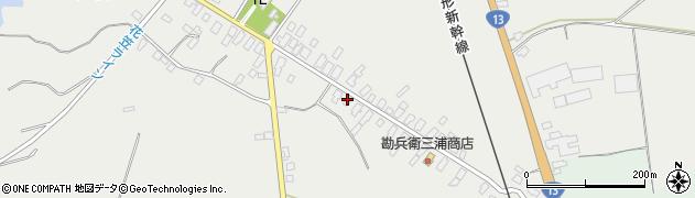 山形県尾花沢市芦沢70周辺の地図