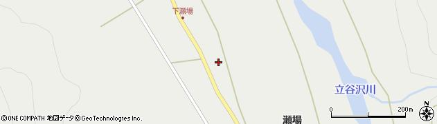 山形県東田川郡庄内町立谷沢瀬場88周辺の地図