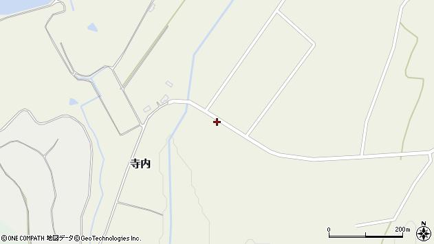 山形県尾花沢市寺内2566周辺の地図