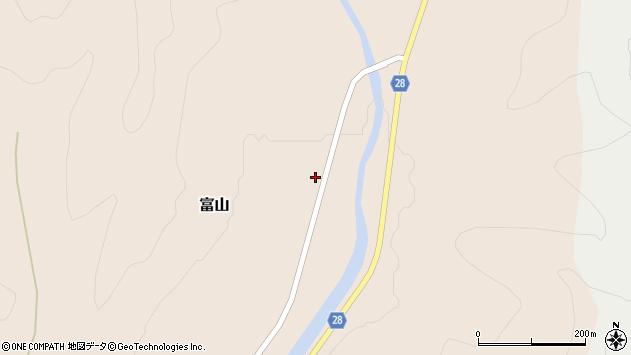 山形県尾花沢市富山81周辺の地図