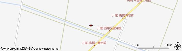 宮城県栗原市瀬峰牛渕前周辺の地図