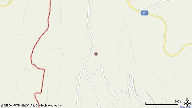 山形県最上郡大蔵村南山1929周辺の地図