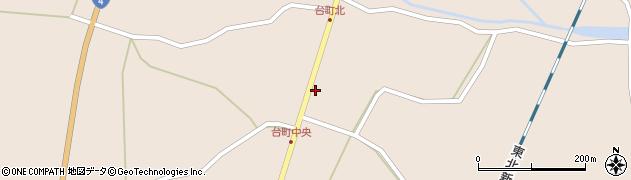 宮城県栗原市高清水台町周辺の地図