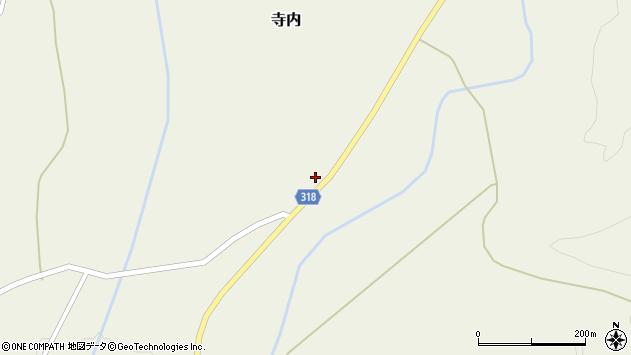 山形県尾花沢市寺内948周辺の地図