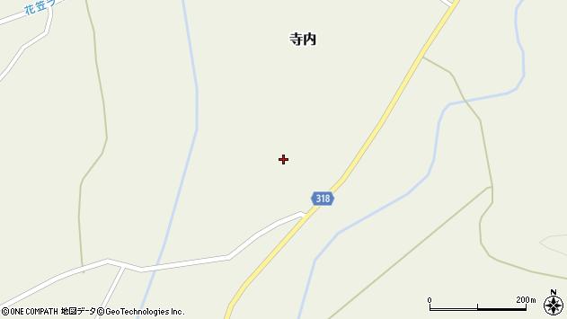 山形県尾花沢市寺内1325周辺の地図