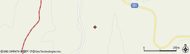 山形県最上郡大蔵村南山362周辺の地図