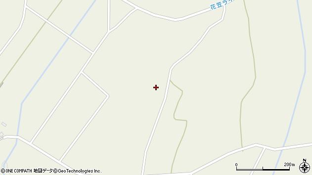 山形県尾花沢市寺内西原周辺の地図